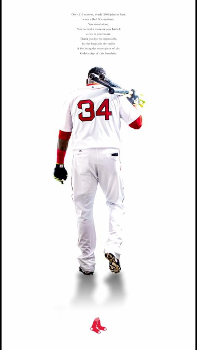 Thanks for the memories Big Papi 😢