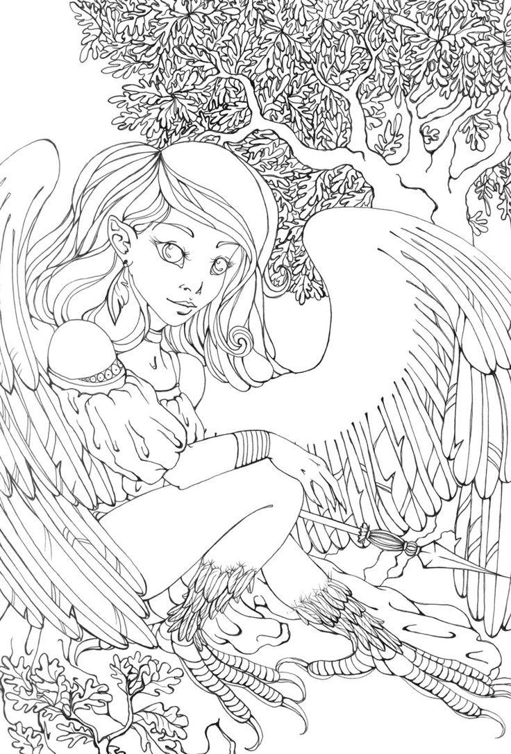61 best devianart enfants images on pinterest drawings coloring