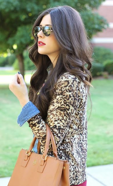 Fall fashion: leopard cardigan from Target!