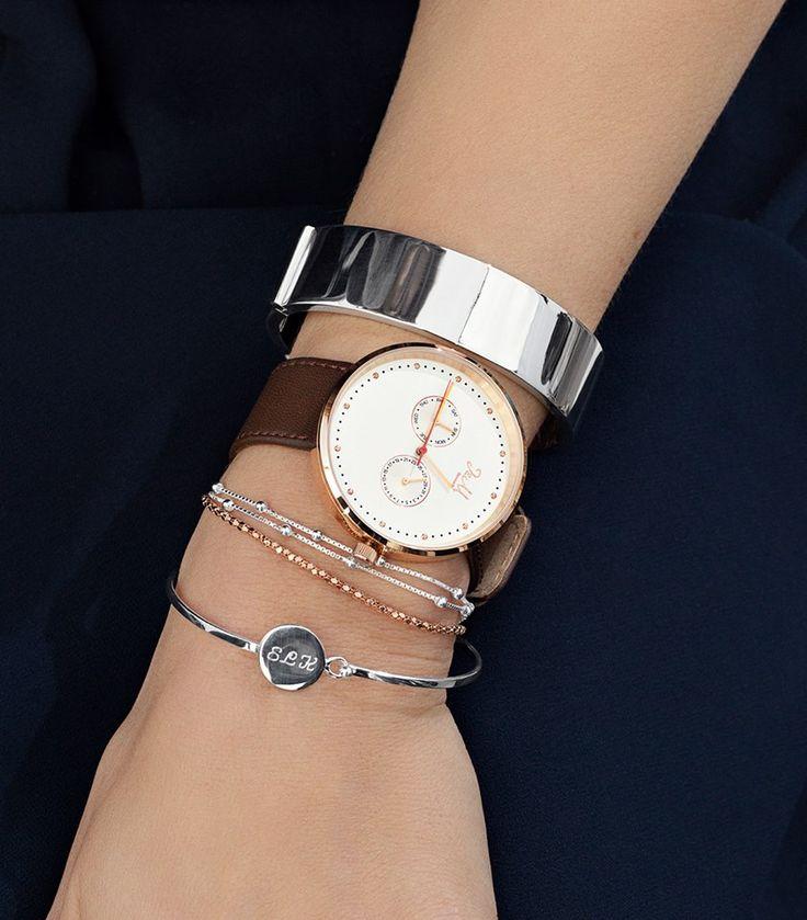 Great combo between watch and jewellery   www.jm-denmark.com