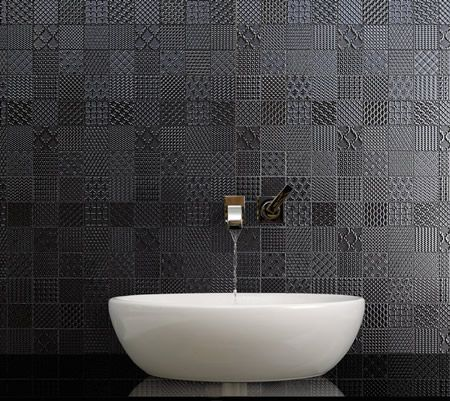 The SC Patchwork feature tile gives any wall or floor a modern yet classical look.  #New #Tiles #NewTiles #Renovation #HomeReno #Renovating #Architect #Architecture #Interior #Design #InteriorDesign #TileIdeas #DesignIdeas #Ideas #Beautiful #Awesome #NewArrival #NewDelivery #Splashback #SplashbackTile #Rustic #Handmade #Bathroom #BathroomTile #NerangTiles #FeatureTile