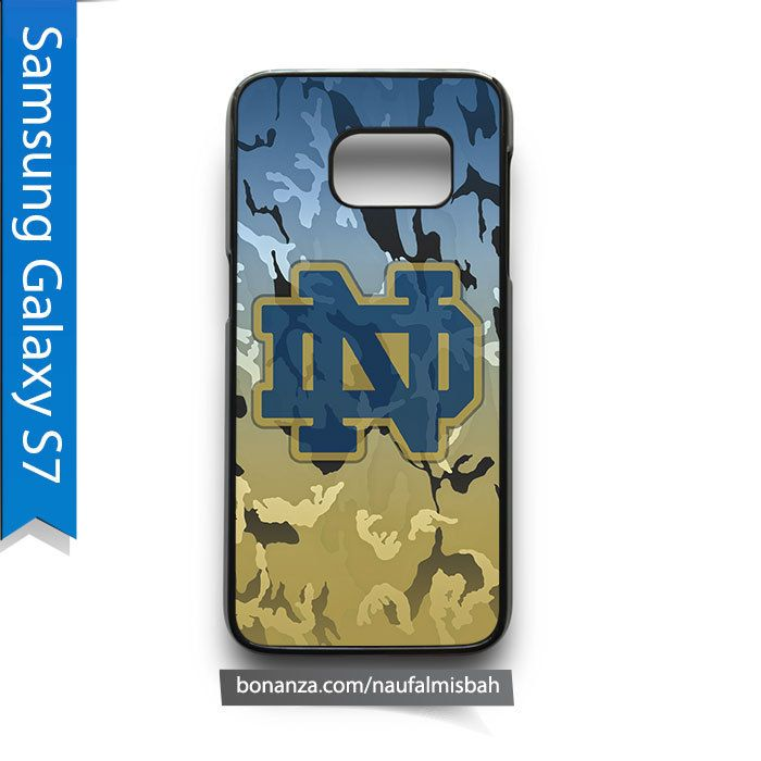 Notre Dame Fighting Irish Camo Samsung Galaxy S7 Case Cover - Cases, Covers & Skins