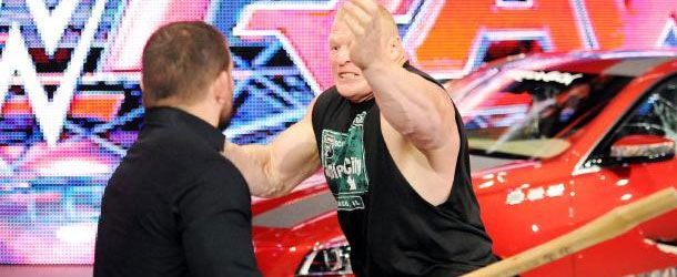 Jamie Noble mentioned on Twitter that he received stitches following the attack from Brock Lesnar after Monday's RAW: My back after last night.... I already miss my car...my arm is jacked also. bad day for J&J pic.twitter.com/Uw661mXkTA— Jamie Noble (@WWENoble)…