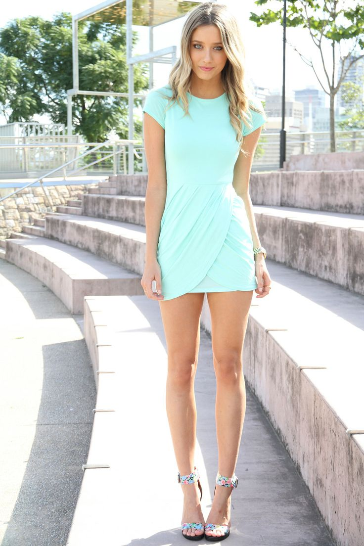 love everything about this dress: Minis Dresses, Summer Dresses, Summer Dress, Fashion, Style, Colors, Shorts, Mint Dresses, The Dresses