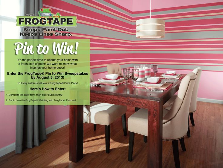 Marvelous Make Sure To Enter The FrogTape Pin To Win: Painting With FrogTape  Pinterest Sweepstakes!