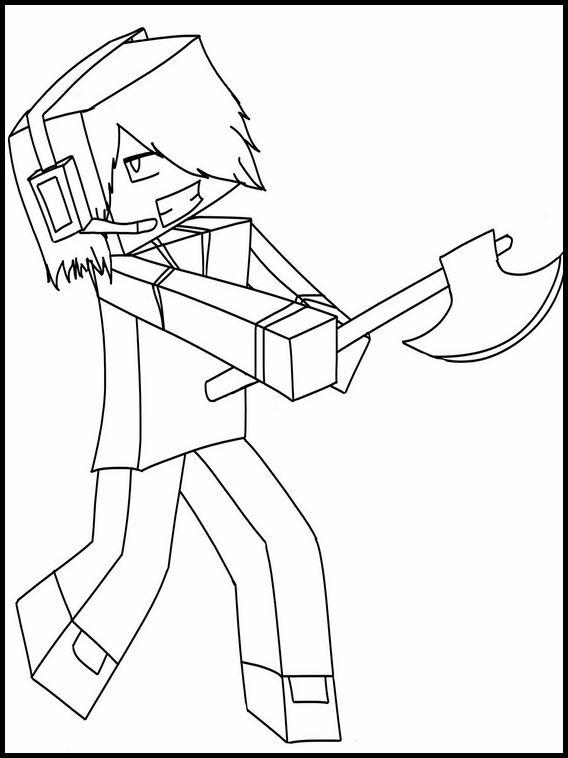Desenhos Para Colorir Para Criancas Para Imprimir Minecraft 11