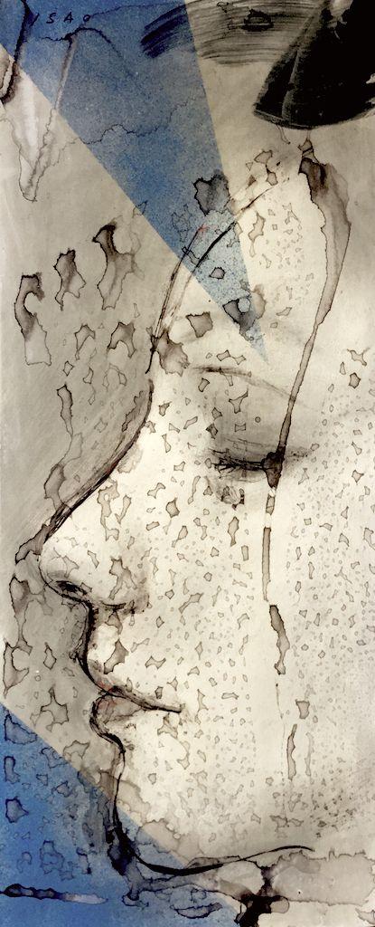 """""""В тихую ночь я увидел лунный свет"""". Исао Тамода - Все интересное в искусстве и не только."""