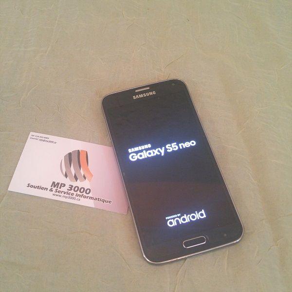 Samsung Galaxy S5 NEO 200$ https://mp3000.ca/produit/samsung-galaxy-s5-neo/ Vien avec chargeur  Excellente condition  Mémoire : 11GB  Model: SM-G903W Écran : 5.1 po Camera: 16 MP Cpu 1.6 GHz Usagé testé 100% Garantie 60 jours MP3000 Soutien et Service Informatique  514-433-8469 #mp3000