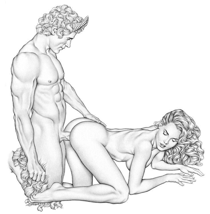 Секс нарисованные картинки сцена
