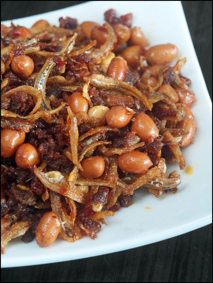 Sambal Ikan Bilis (Anchovies with Chilli Paste)