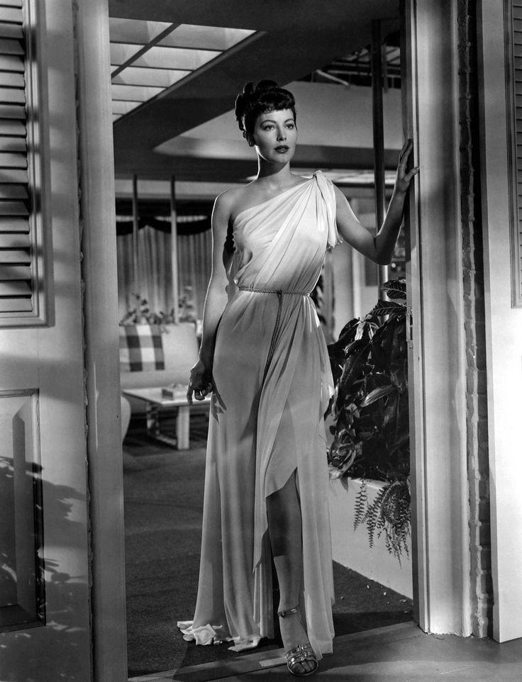 """Ava Gardner, en """"Venus era mujer"""", 1948:"""