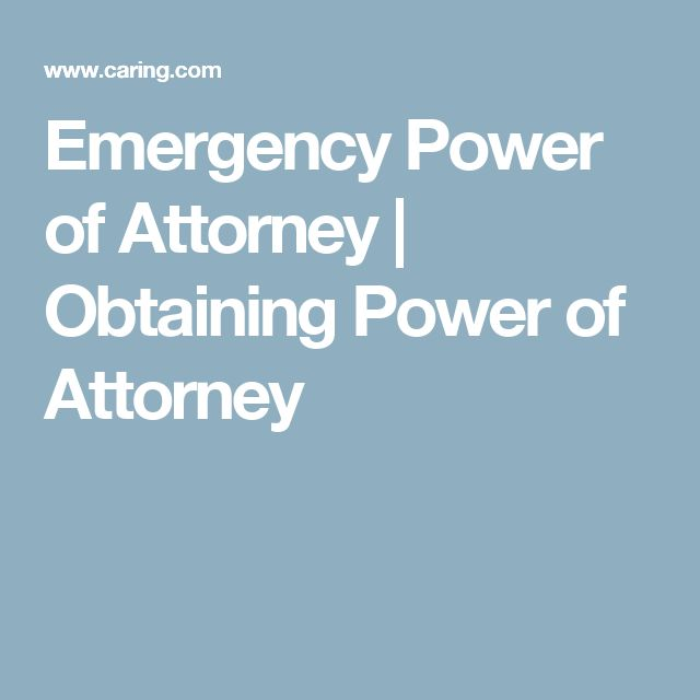 The  Best Power Of Attorney Ideas On   Power Of
