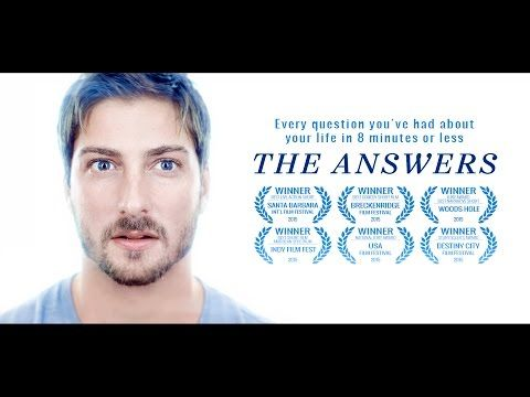 Every question you've had about your life in 8 minutes or less. Starring Daniel Lissing and Rose McIver Written and Directed by Michael Goode Produced by / S...