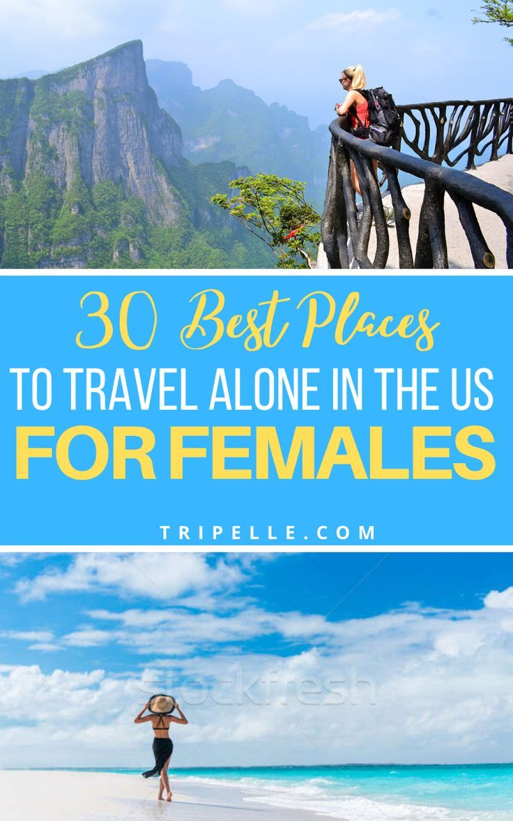 Best Places To Travel Alone In The Usa Tripelle Best Places To Travel Safest Places To Travel Travel Alone
