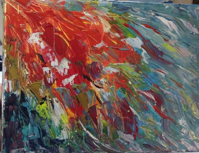 Free flow #colour #abstractart