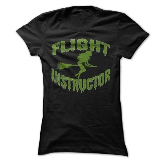 Awesome Tee FLIGHT INSTRUCTOR Shirts & Tees