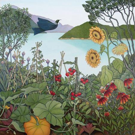 Kitchen Garden by Clare Reilly