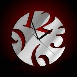 3D-Stick-Uhr Wanduhr großen