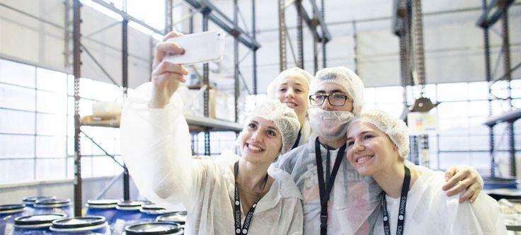 KORRES Uni Lab / Plant Tour / December 2014 #korres_unilab2015 photo credit / Margarita Nikitaki