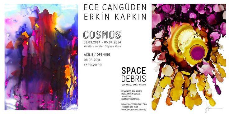 """Space Debris Art'ın ilk sergisi """"COSMOS"""" 8 Mart'ta açılıyor"""