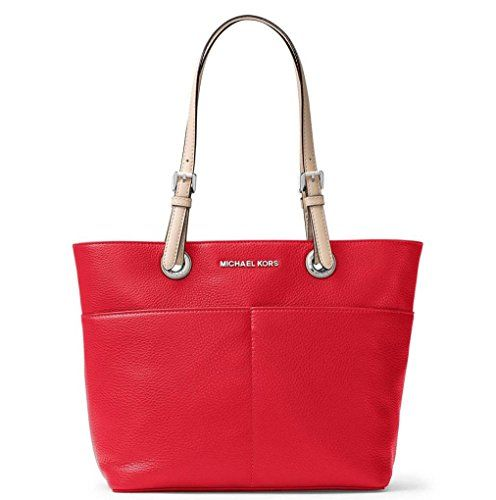 Michael Kors Big Bags. Michael Kors Women's Bedford Top Zip Pocket Tote Bag (Bright Red).  #michael #kors #big #bags #michaelkors #korsbig #bigbags