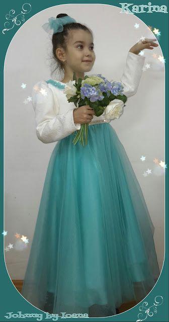 HAINUTE BOTEZ: Rochiță fetite gala