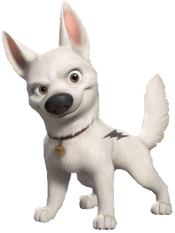 Walt Disneys BOLT German Shepherd Puppy Dog Window Cling Sticker Decal NEW Disney