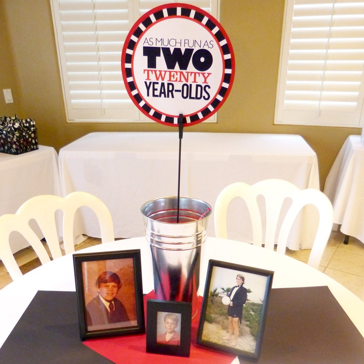 93 Best 40th Birthday Party Ideas Images On Pinterest