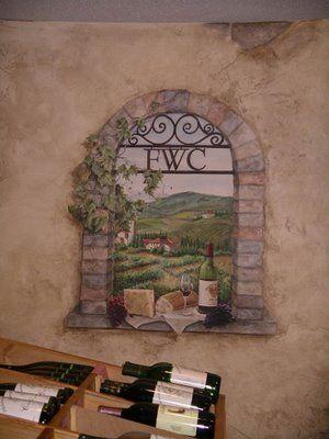Window Frame Mural