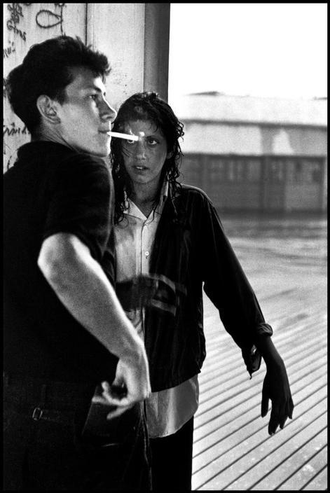 Brooklyn Gang- 1959.  New York City USA  - photo Bruce Davidson