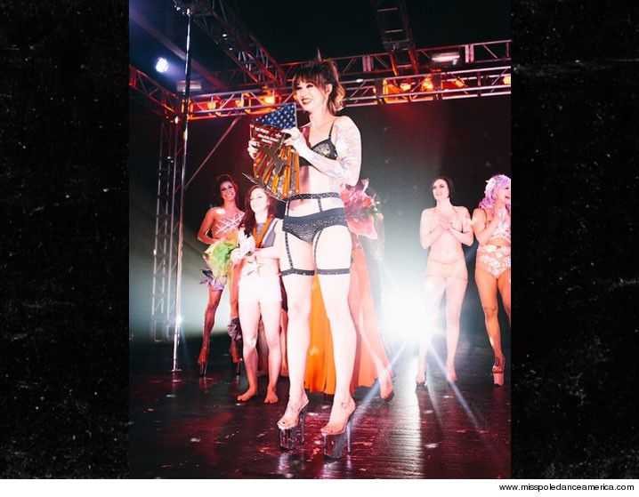 Dave Bautista's Wife -- Dominates Pole Dancing Competition ... 1st Place!!! - http://blog.clairepeetz.com/dave-bautistas-wife-dominates-pole-dancing-competition-1st-place/