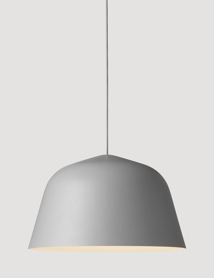 AMBIT is a timeless and versatile pendant with strong character. The lamp shade is made from old brazier traditions, press spun by hand, polished, and finally hand-painted. The AMBIT pendant comes in 5 different colors and has a white-painted inside which adds a delicate contrast while also ensuring that maximum light is emitted from the lamp.