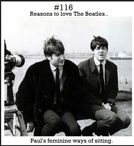 Reason to love The Beatles :)