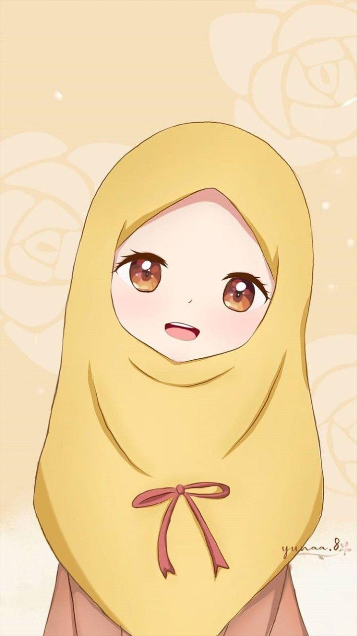 Pin Oleh Watermaylon Di Anime Muslimah Elit Ilustrasi Karakter Kartun Animasi