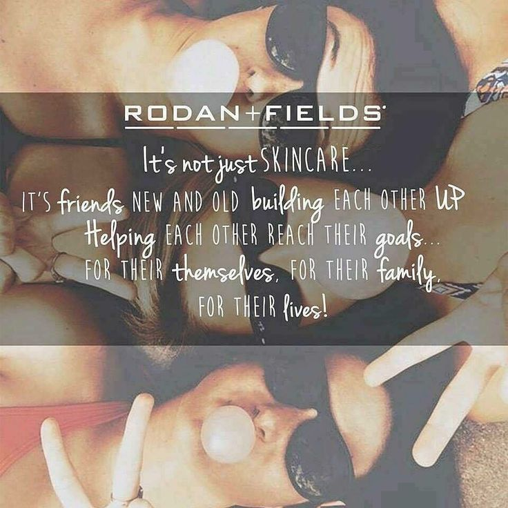 Rodan + Fields is an amazing opportunity.  Get paid to wash your face and talk…