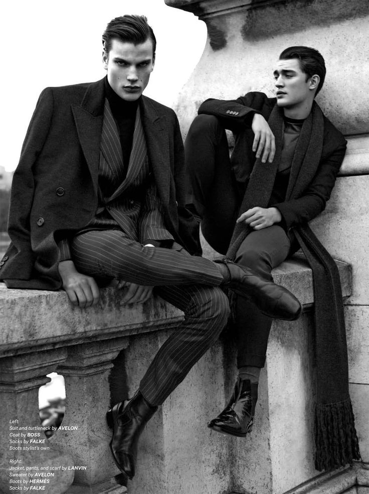 """l-homme-que-je-suis: """"Felix Hermans & Otto Lotz in """"In This Light"""" Photographed by Zeb Daemen and Styled by Alex van der Steen for Essential Homme Magazine December 2014/January 2015 """""""