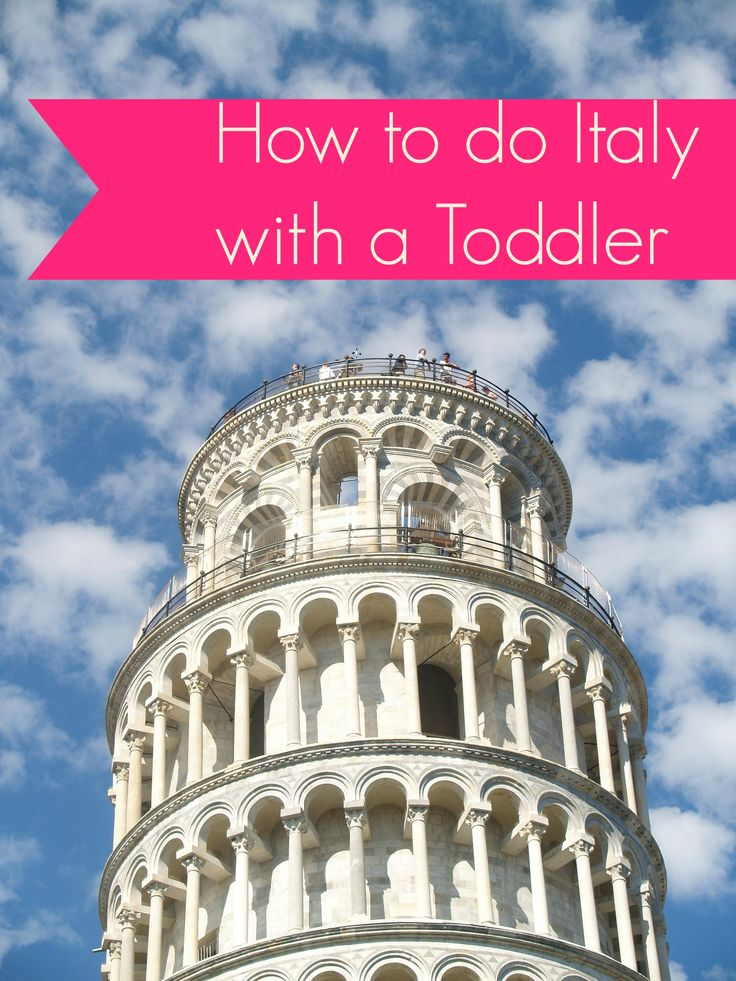 It's totally possible to do Italy with a toddler - and crush it! Find out how.  MyFamilyTravels.com