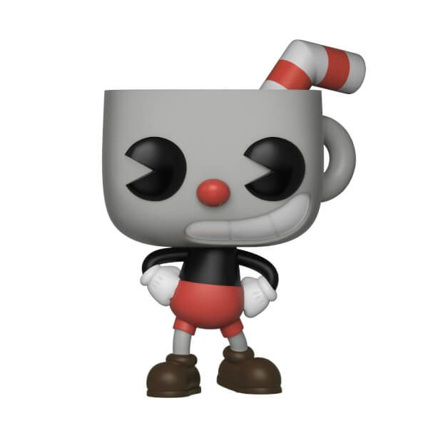 Cuphead Pop! Vinyl Figure  All for getting a Cuppy and Muggy in Funko forms. Hope the Frog brothers, Ribby and Croaks, make an appearance, too!