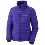 COLUMBIA Powerfly™ Down Jacket -takki pitää lämpimänä Omni-Heat Thermal Reflective™ -teknologian ansiosta. 199,95 €.