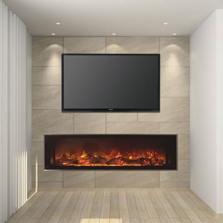 424 best linear fireplaces linear contemporary images on