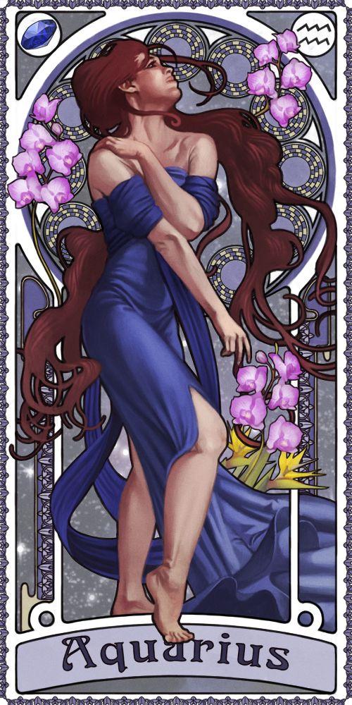 Zodiac Art Show - Aquarius by giorgiobaroni.deviantart.com on @deviantART