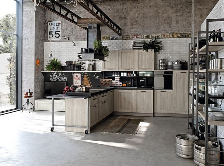 Industrial Kitchen Designs Fair Best 25 Industrial Kitchens Ideas On Pinterest  Industrial House . Design Ideas