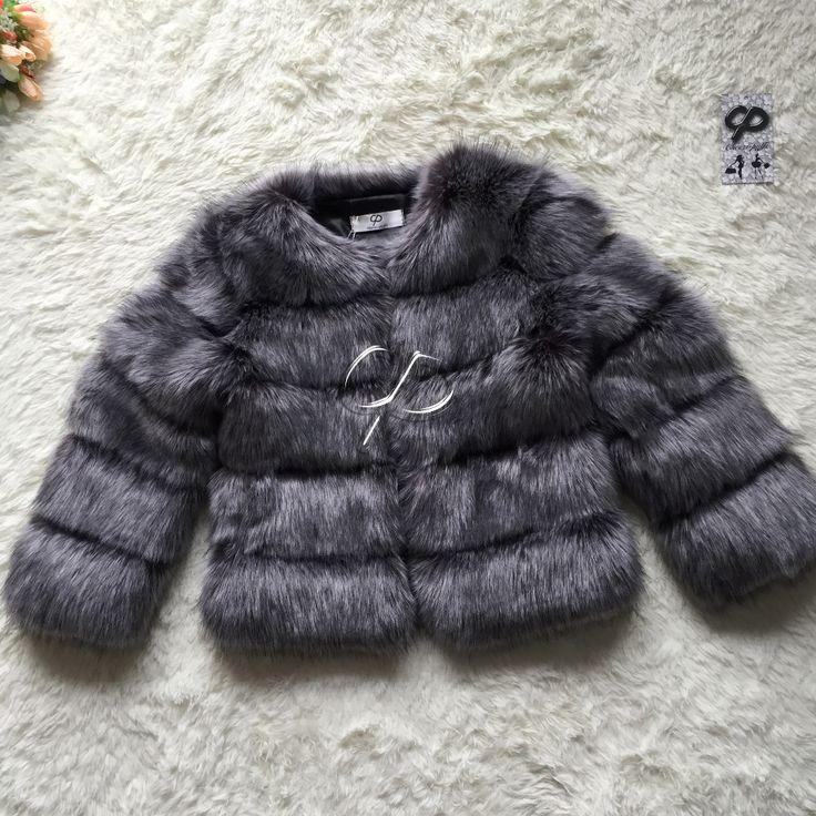 CP Brand Short Fur Coat Winter Fashion Women Faux Fox Fur Coats Furry Cute Woman Fake Fur Jacket Plus Size Fur Coat Jacket