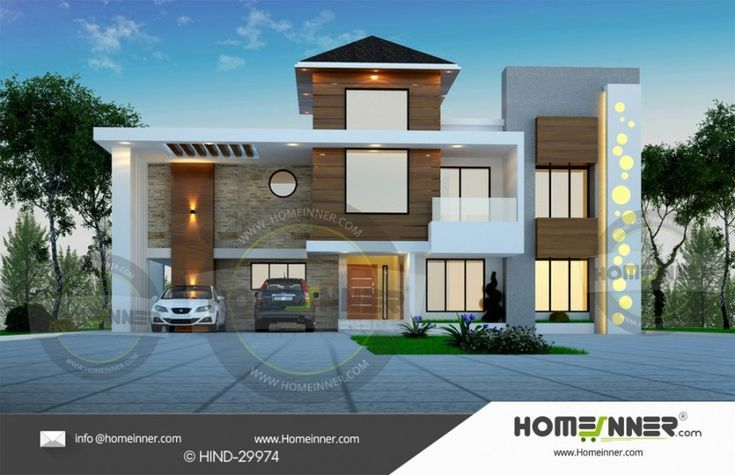 4000 Sq Ft Luxury Indian Home Plan Ideas Modern House Design Courtyard House Plans Small House Design