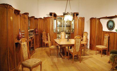 La salle à manger d'Hector Guimard