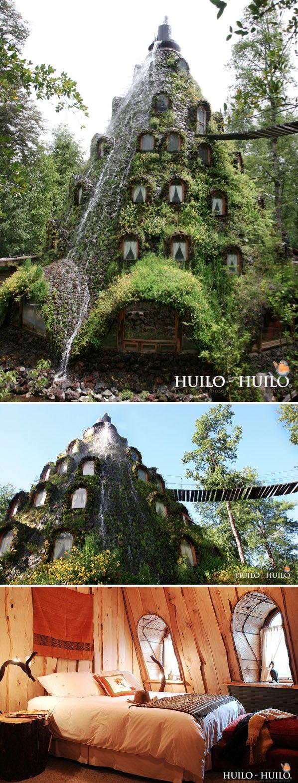 Montaña Mágica Lodge / Huilo Huilo, Chile