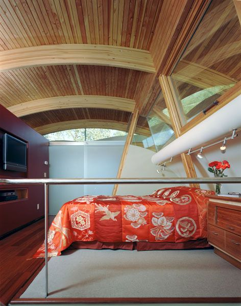 Find This Pin And More On Fennell Residence Portland Oregon By Jamesreverted Secrets Of Modern Houseboat Design Architect Interior