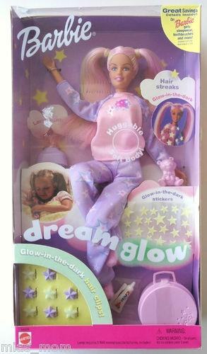 Barbie Dream Glow Doll Pajamas Bedtime Fun | eBay