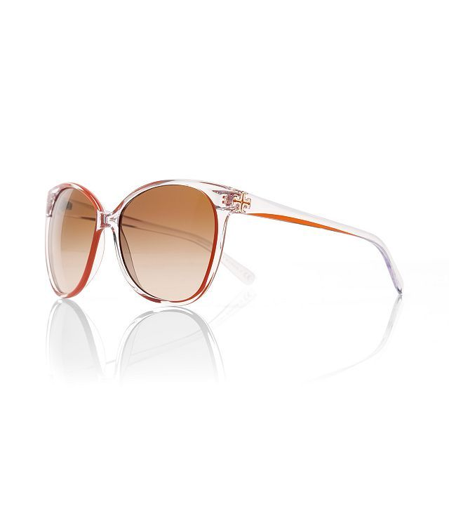 Rounded Cat-eye Sunglasses : Womens Designer Sunglasses | Tory Burch | Womens Eyewear