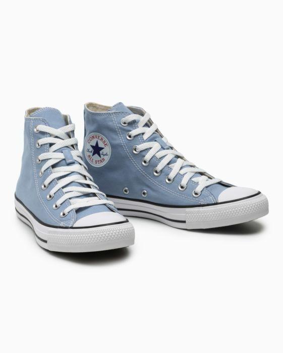 c5eaef4a306799 Tênis Converse All Star Chuck Taylor Cano Alto Azul em 2019 ...